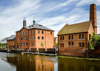 Fototapeta Budynki w Leicester