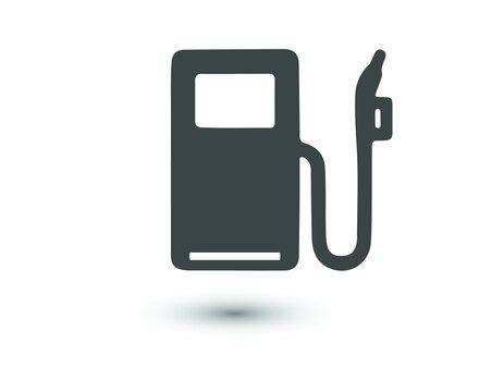 Fuel icon vector logo design template