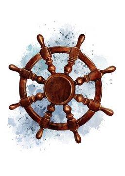 wheel of the ship