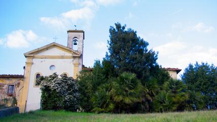 Fototapeta Church of Sant'Andrea a San Zio Cerreto Guidi obraz