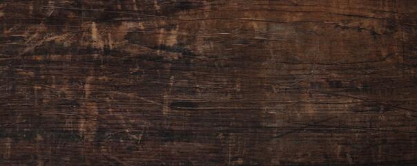 Fototapeta dark wooden texture may used as background obraz