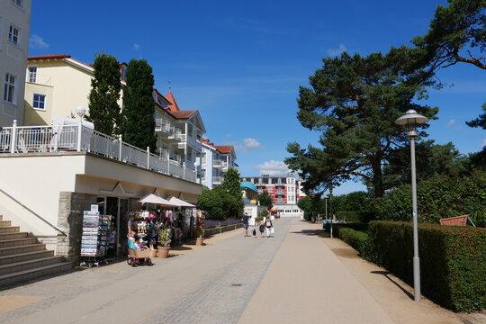 Bäderarchitektur Promenade Ostseebad Zinnowitz