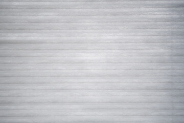 Fototapeta Closeup of white striped fabric for backgrounds and wallpapers