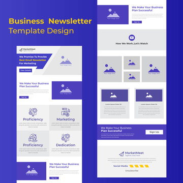 Creative Business Campaign Promotional Mailchimp Email Template Design