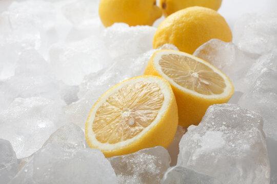 氷 レモン