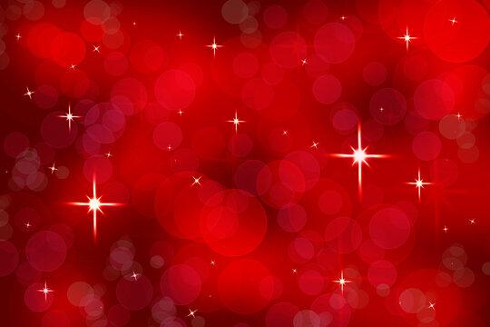 fondo rojo con luces desenfocadas