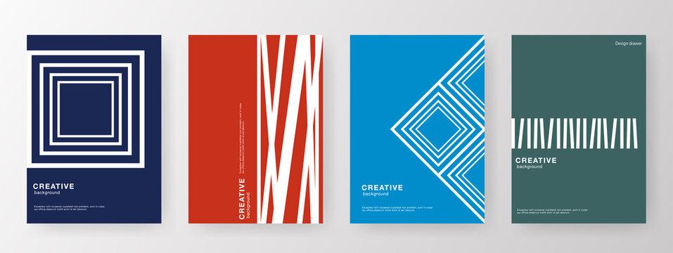 本の表紙デザイン。ブックカバーデザイン。広告、チラシのレイアウトアイデア。ビジネスカタログ