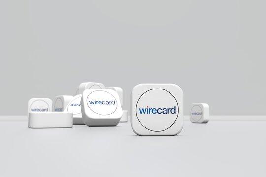 wirecard, social network background design