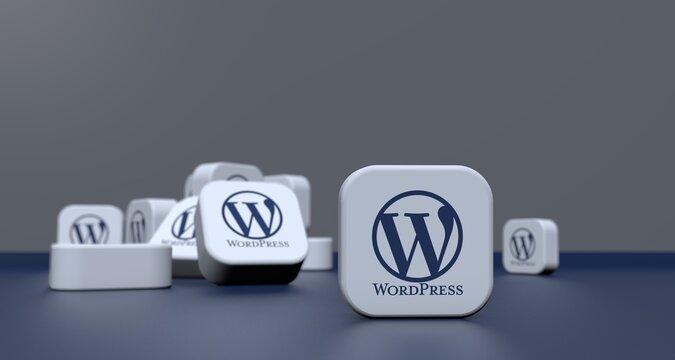 wordpress, social network background design
