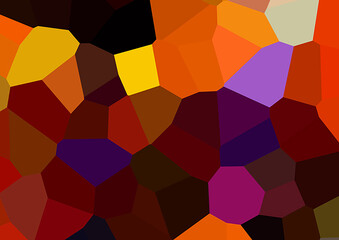 Fototapeta Abstract polygon background Abstract background composed of tria