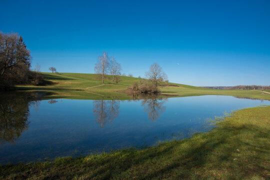 Eichener See im Südschwarzwald / Baden-Württemberg/ Deutschland