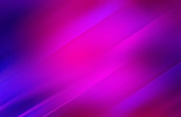 Fototapeta Empty dark abstract background with ultraviolet geometric lines. Neon glow. obraz