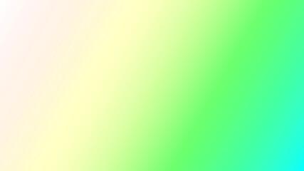 Fototapeta Zielono niebiesko beżowa ilustracja z nachodzących na siebie kolorów