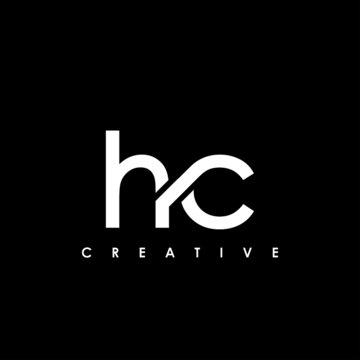HC Letter Initial Logo Design Template Vector Illustration