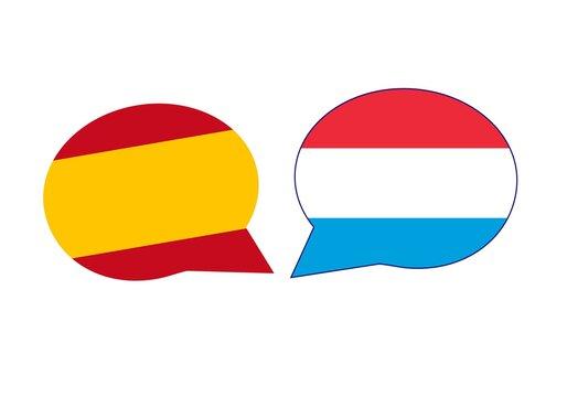 Conversación, diálogo, relaciones internacionales entre España y Luxemburgo