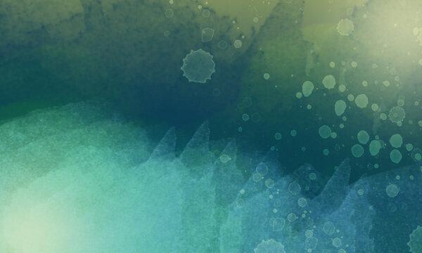 Fondo marino con texturas de agua, salpicado y gotas