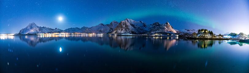 Fototapeta Polarlichter am Himmel von Norwegen