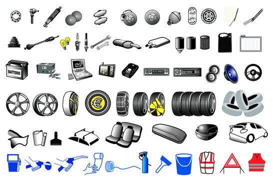 pièces automobile
