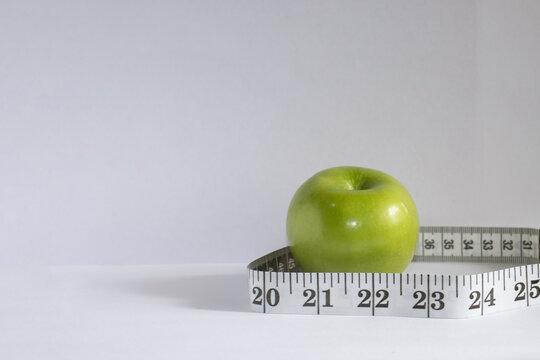 manzana, dieta, medir