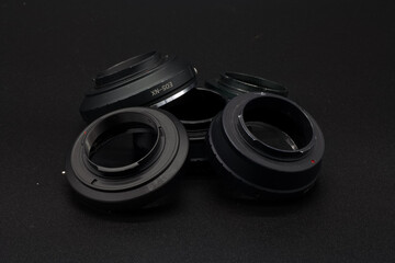 Fototapeta przejściówka pierścień adaptador fotografia osprzęt