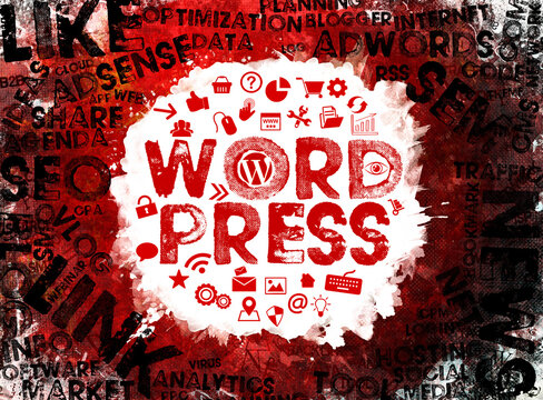 Wordpress; Wordpress Concept Background