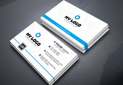 Corporate Business Card Layout
