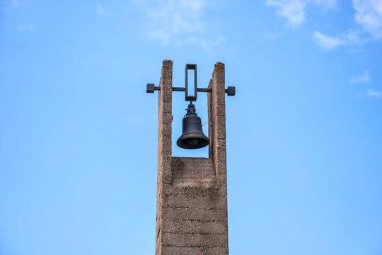 Khatyn bell - a symbol of the Belarusian village burned down by the fascists