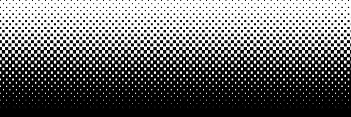 Obraz Abstract vector background, banner. Halftone dots, fading dot effect. - fototapety do salonu