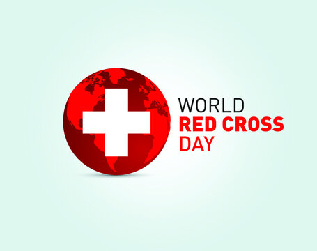 World red cross day concept vector illustration, 8th may red cross health concept with vector elements.