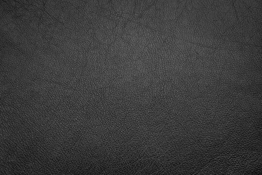 Black blank leather background texture