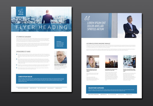 Modern Business Corporate Brochure Flyer Design Template