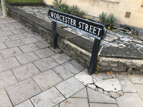 Oxford Worcester Street signal