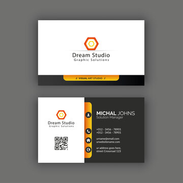 This Business card template download contains 300 DPI, Print-Ready, CMYK, Free Vector files. All main elements are editable and customizable.