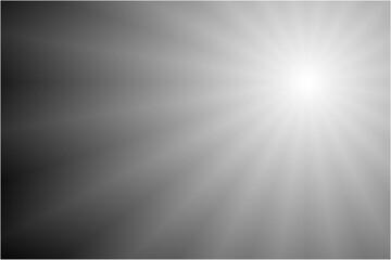 Fototapeta 黒と白の輝き背景