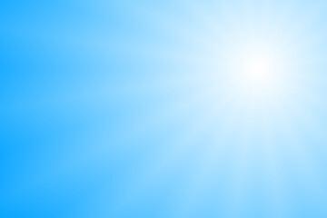 Fototapeta 水色と白の輝き背景