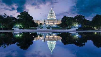 Fototapeta The United Statues Capitol Building, Washington DC, USA.