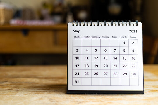 Calendar - May 2021
