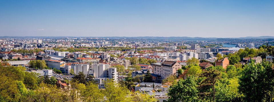 Panorama de Lyon depuis Saint Just