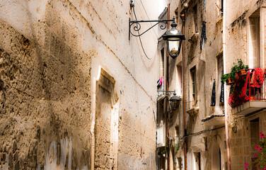 Fototapeta Historic architecture of Monopoli, Apulia, Italy