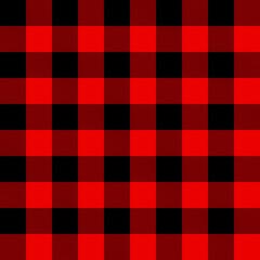 Lumberjack gingham plaid seamless pattern
