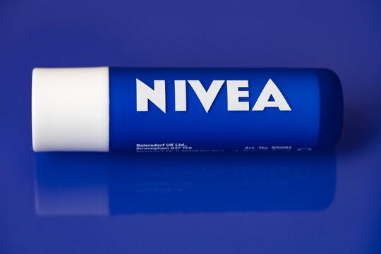 Nivea caring lip balm