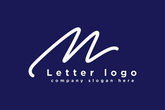 m logo design. letter logo design Abstract letter M logo