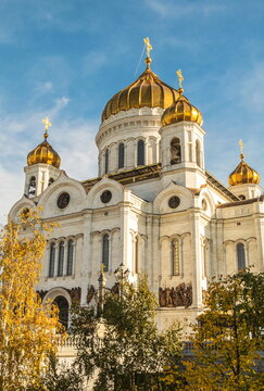 Cathedral of the Nativity of Christ (Cathedral of Christ the Savior) in Moscow