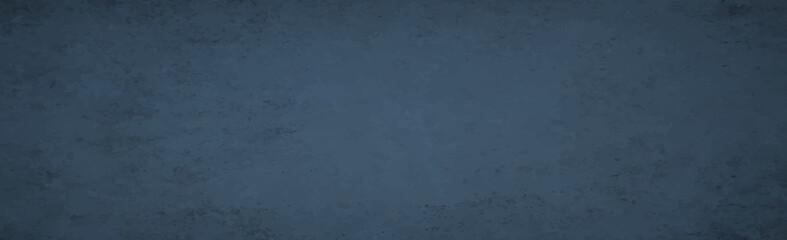Realistic background, dark blue old wall - Vector - fototapety na wymiar