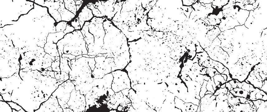 Distressed Grunge Texture. Seamless Pattern.