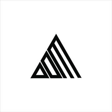 D D M letter logo creative design. DDM icon