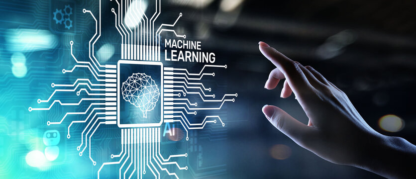 Machine Deep learning algorithms, Artificial intelligence, AI, Automation and modern technology in business as concept