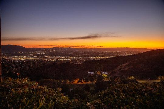 Amerika | Los Angeles im Sonnenuntergang