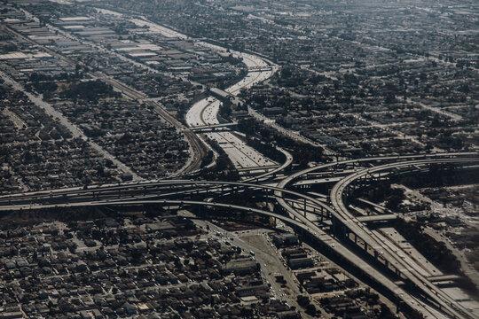 Amerika | Luftaufnahme Las Vegas | Verkehr