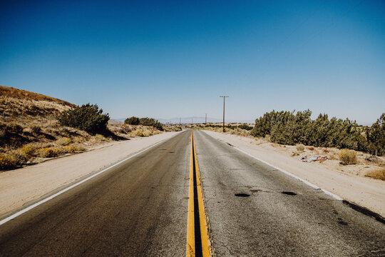 Amerika | Verlassene Straße